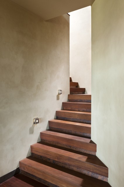 laminate stair treads Staircase Contemporary with curved staircase hidden staircase