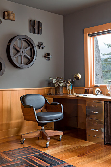 lateral filing cabinet Home Office Industrial with Brass Table Lamp cogs