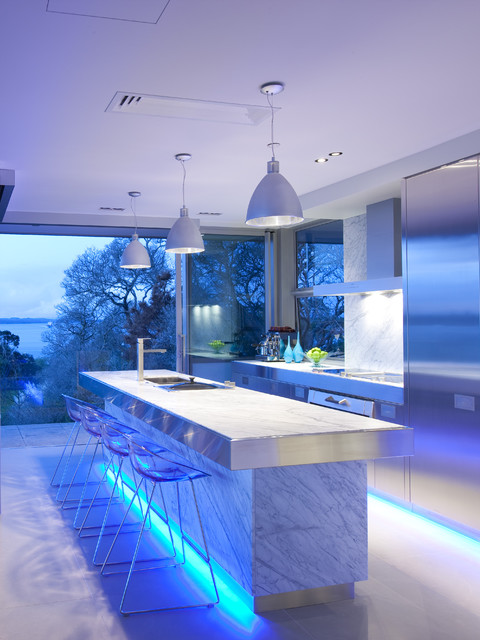 Led Icicle Lights Kitchen Contemporary with Breakfast Bar Indoor Outdoor
