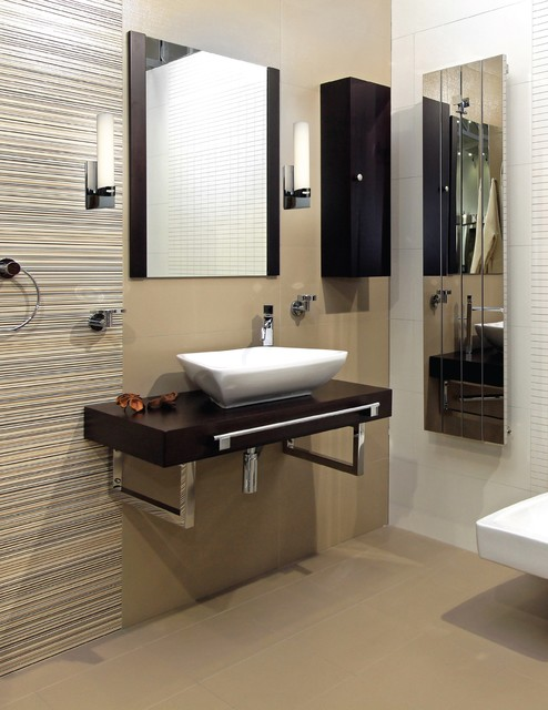 Leviton Switches Bathroom Contemporary with Bathroom Sconce Brushed Steel