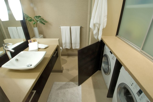 Lg Front Load Washer Reviews Bathroom Contemporary with Bath Accessories Bath Mat
