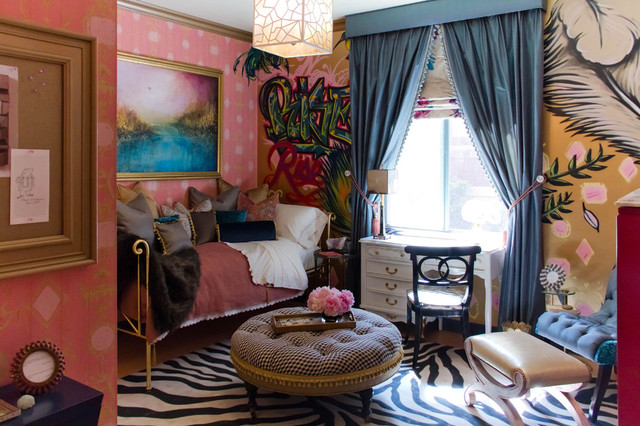 Liora Manne Bedroom Eclectic with Area Carpet Area Rug