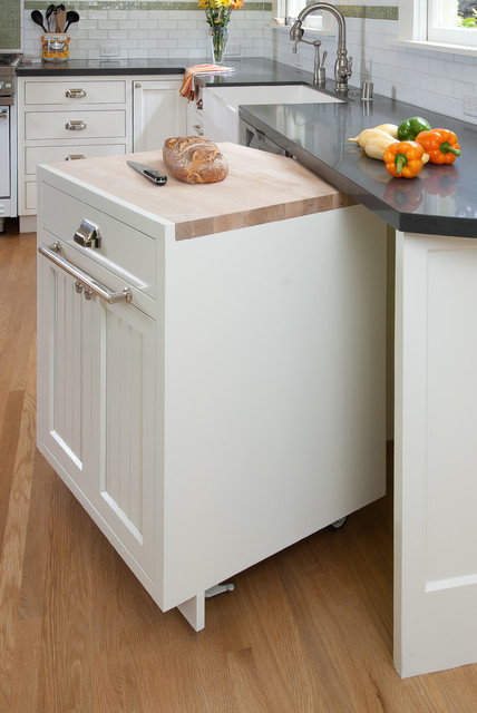 Loaf Pans Kitchen Traditional with Apron Sink Beadboard Butcher