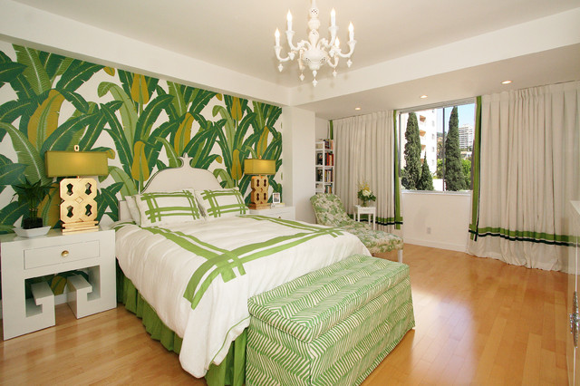 Locksmith West Palm Beach Bedroom Contemporary with Bedroom Bench Drapery Trim