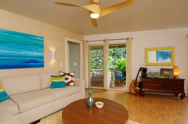 lowes ceiling fans with lights Living Room Tropical with beige curtains ceiling fan