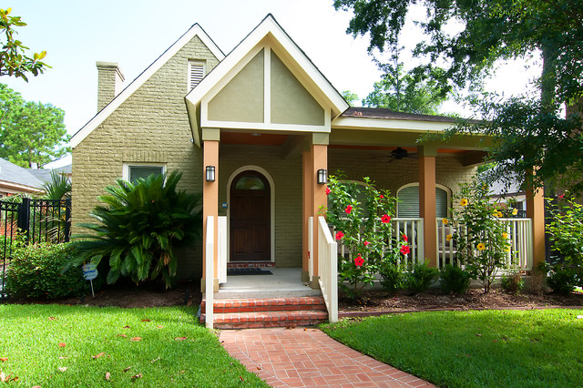 lowes-exterior-paint-Exterior-Traditional-with-brick-house-brick ...