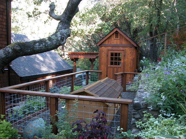 lowes fence installation Landscape Traditional with animal enclosure arbor dog