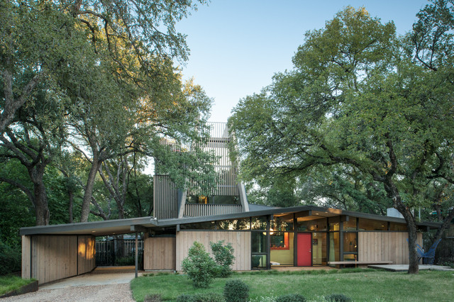 Lowes Roofing Exterior Midcentury with a Frame a D