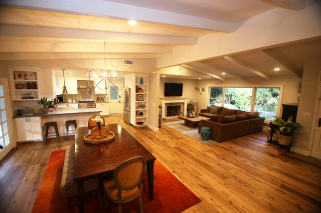 Lowes Shelves Living Room Transitional with Bar Beam Ceiling Dinning