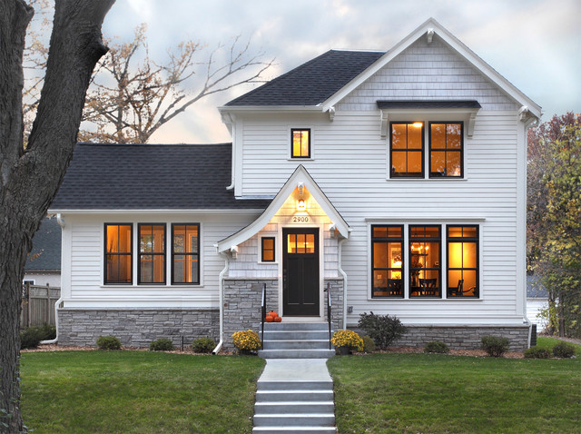 Marvin Windows Prices Exterior Traditional with Dark Trim Dutch Gable
