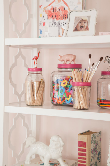 Mason Jars with Handles Kids Eclectic with Flamingo Jar Pig