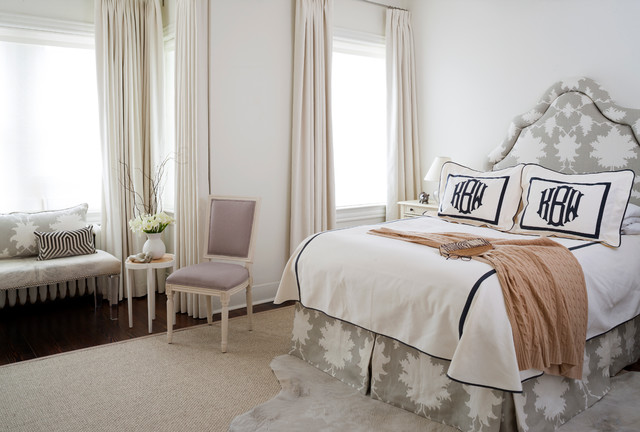 Matouk Sheets Bedroom Traditional with Accent Chair Accent Rug