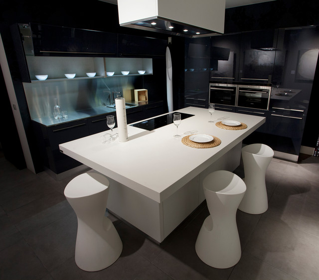 Mattress Warehouse Utah Kitchen Modern with Neolith Nieve Black And