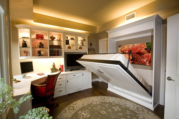 Mattresses at Costco Spaces Traditional with Home Office Murphy Beds