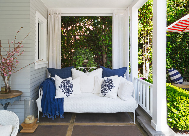 Metal Daybed Porch Traditional with Categoryporchstyletraditionallocationlos Angeles