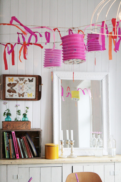 Milk Crates for Sale Dining Room Eclectic with Beadboard Garland Lanterns Mirror