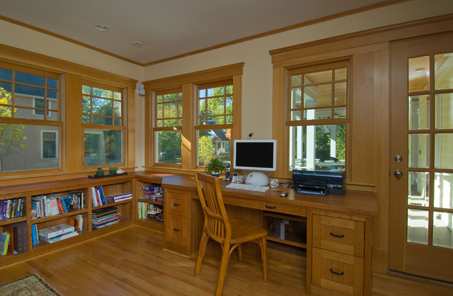 Mission Style Bookcase Home Office Traditional with Bookcase Bookshelves Built In