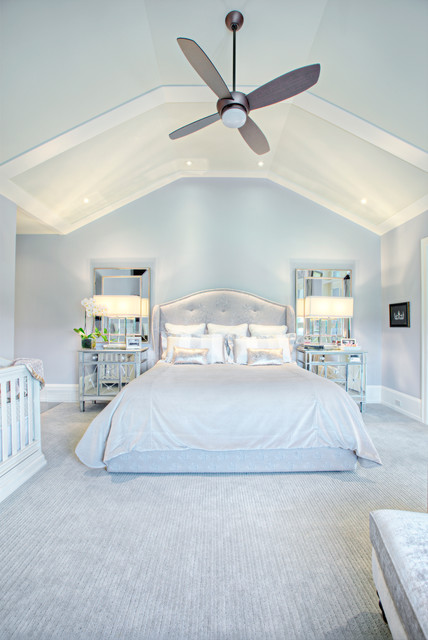 Mohawk Rugs Bedroom Transitional with Bedding Carpet Ceiling Fan