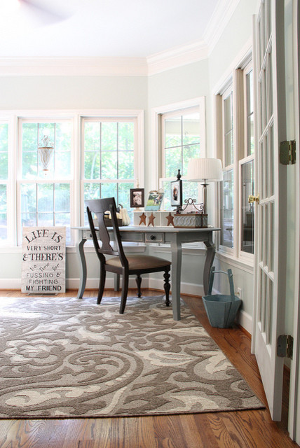 Mohawk Rugs Home Office Eclectic with Bright Desk Light Mohawk