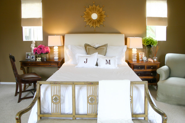 Monogram Pillow Cases Bedroom Beach with Bedside Table Foot Of