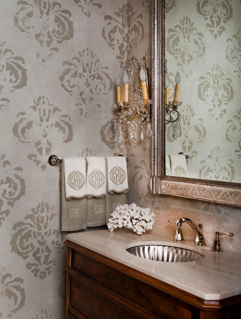 Monogrammed Hand Towels Bathroom Traditional with Bathroom Faucet Coral Crystal