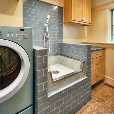 Mop Sink Laundry Room Modernwith Categorylaundry Roomstylemodern