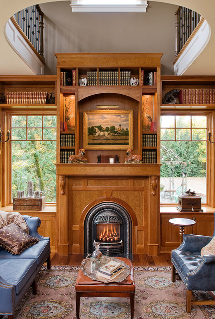 Napoleon Fireplace Inserts Home Office Victorian with Arched Fireplace Blue Sofa