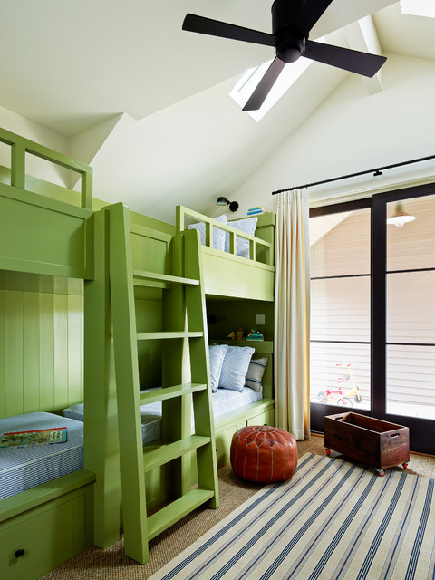Naturepedic Twin Mattress Kids Transitional with Architectural Elements Built In