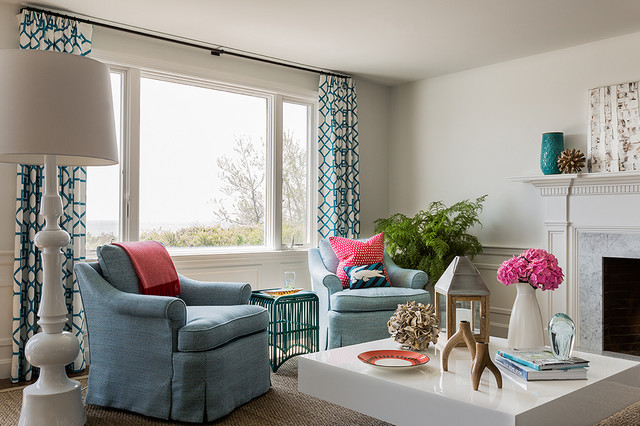 Noise Reducing Curtains Living Room Contemporary with Airy Baseboard Beach Blue