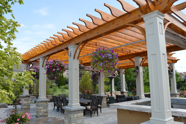 Old Fashioned Light Bulbs Patio Traditional with Awnings Outdoor Bar Outdoor