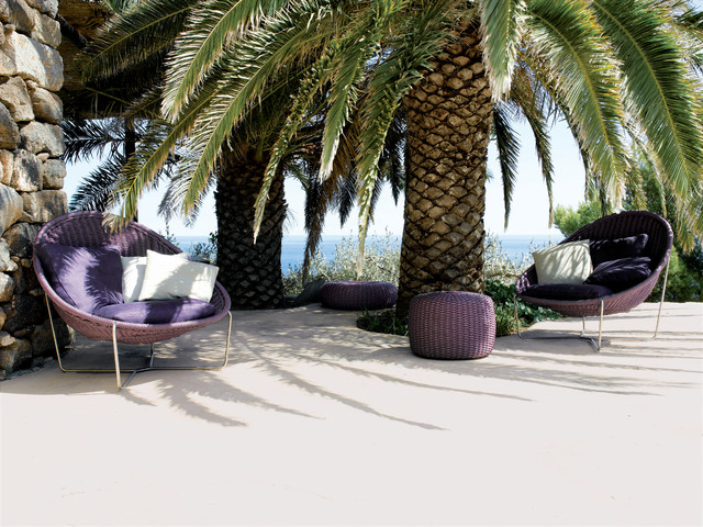 Outdoor Papasan Chair Patio Beach with Bold Colors Bright Colors