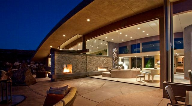Outdoor Propane Fire Pit Patio Modern with Categorypatiostylemodernlocationunited States