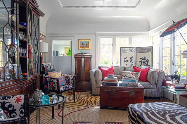 Paper Parasol Living Room Eclectic with Asian Room Divider Asian