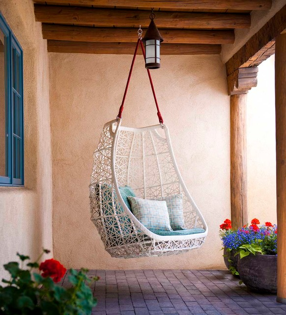 Patio Swings with Canopy Patio Southwestern with Adobe Brick Paving Clean
