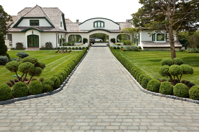 Pavers Lowes Landscape Traditional with Arched Doors Arched Windows