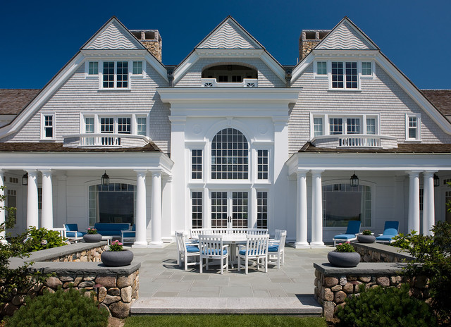 Polywood Furniture Exterior Victorian with Arched Windows Arches Backyard