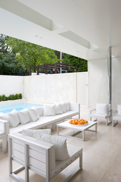 Poolside Furniture Patio Modern with Beautiful Pools Contemporary Artwork