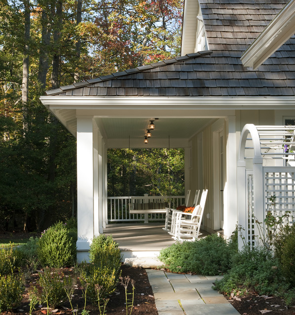 Porch Rockers Porch Beach with Arbor Archway Board And