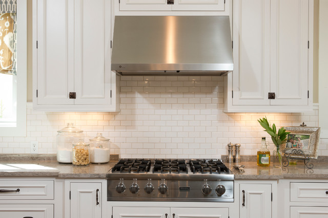 Propane Cooktop Kitchen Farmhouse with Atkins Beaufort Bluffton Bright