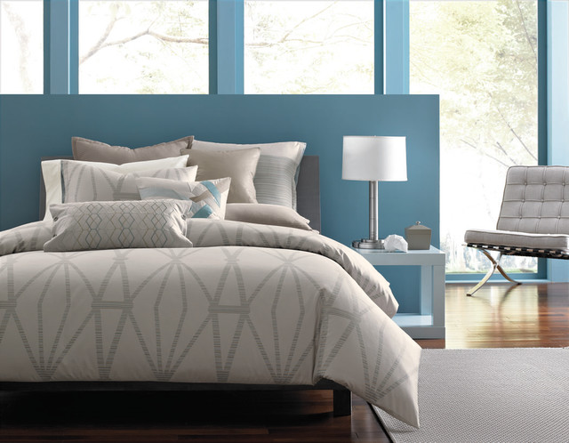 Queen Mattress Topper Bedroom Contemporary with Accent Bed Bedding Bedroom