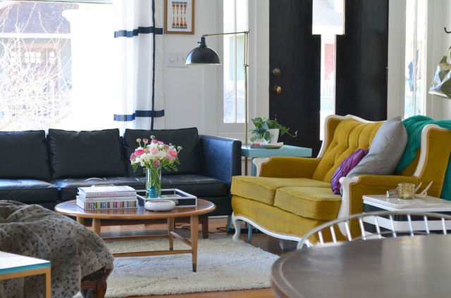 Ranunculus Bouquet Living Room Eclectic with Colorful Craftsman Eclectic Fort