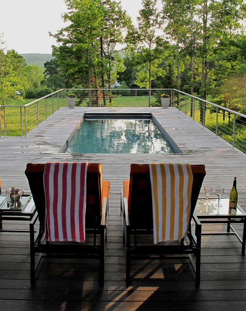 Rectangle Above Ground Pool Pool Contemporary with Above Ground Berkshire Pool