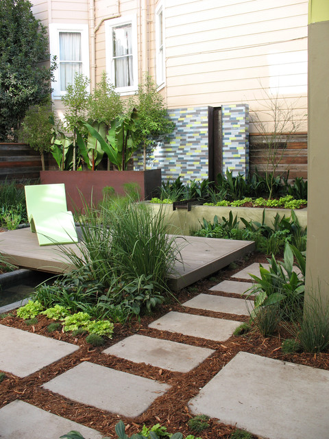 Rubber Mulch Reviews Landscape Contemporary with Chair Chaise Lounge City