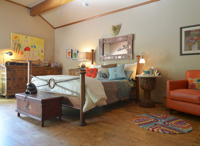 Rug Depot Bedroom Eclectic with Angel Antique Furniture Box