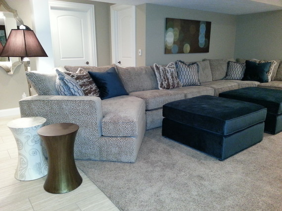 Sauder Furniture Spaces Transitional with Media Room