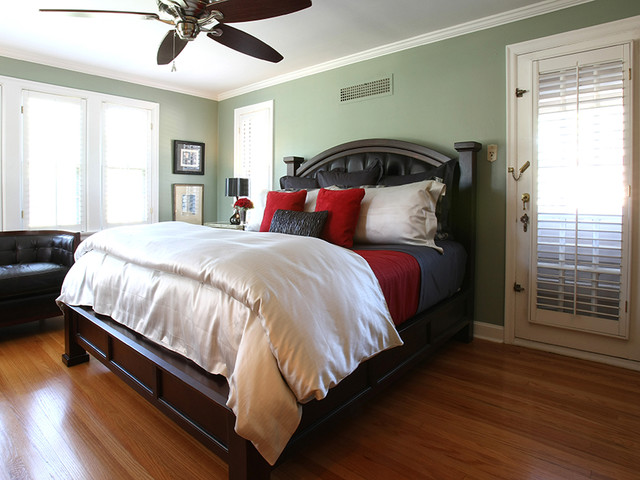 Scandia Down Bedroom Traditional with Baker Scandia Down