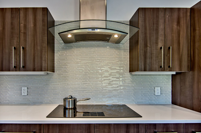 Scanpan Ctx Kitchen Midcentury with Glass Tile Glass Tile