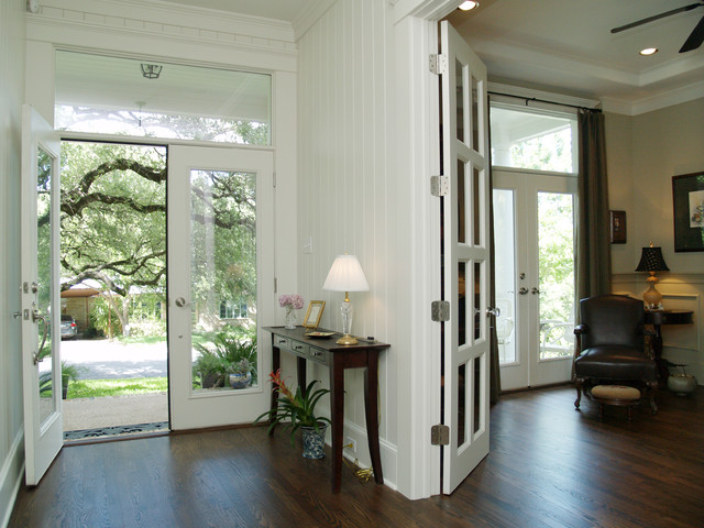 Schlage Door Locks Entry Traditional with Austin Beadboard Console Table