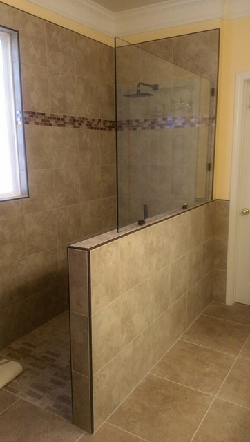 Schluter System Bathroom Modern with All Work Done By