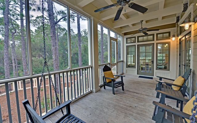 Seaside Florida Vacation Rentals Porch Traditional with Envision Virtual Tours Florida